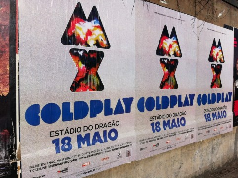 Porto_afis Coldplay