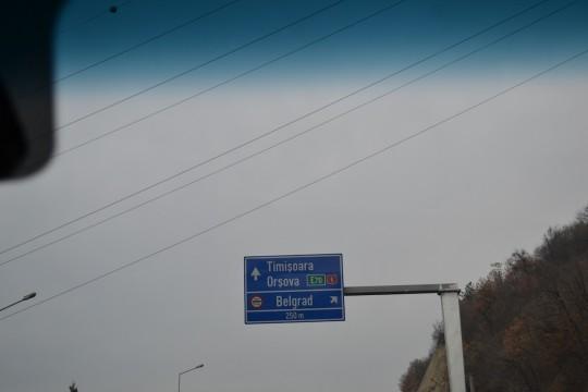 Drum Belgrad 3