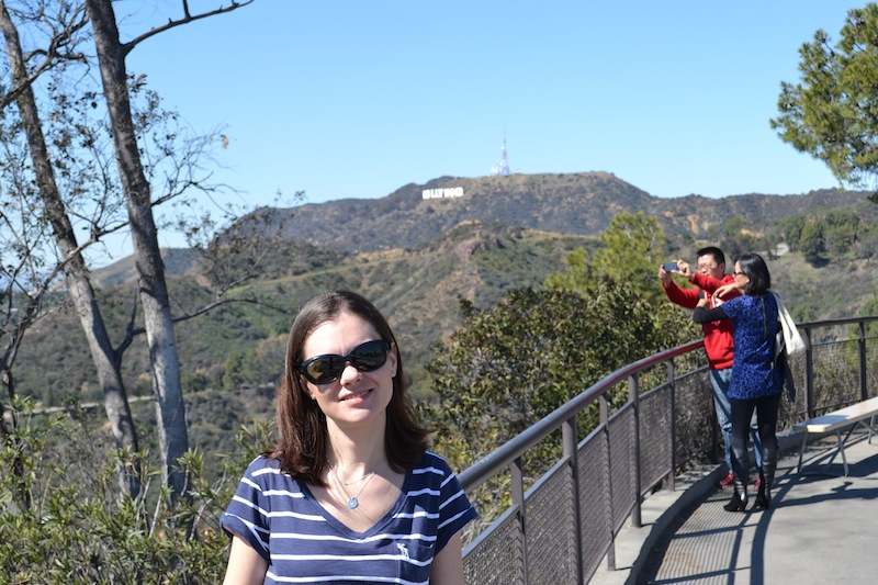Los Angeles Hollywood sign 1