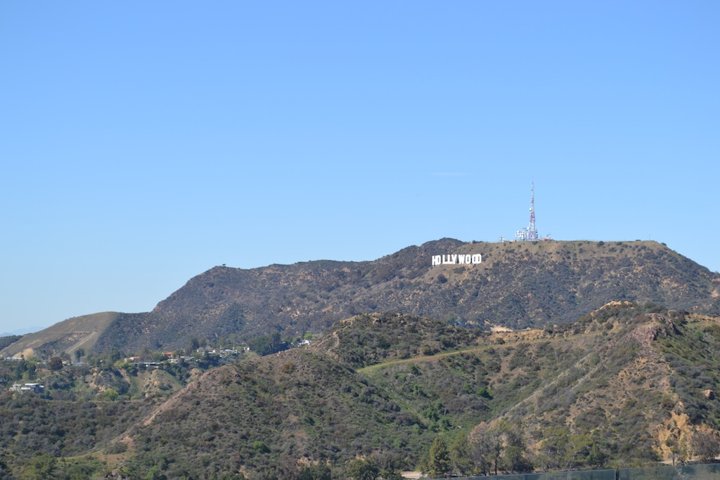 Los Angeles Hollywood sign 3