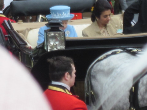 her majesty and guests