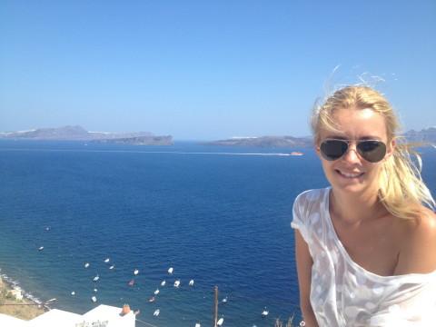 Diana Dumitrescu Santorini 1