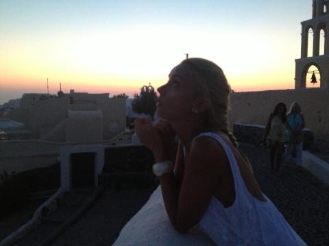 Diana Dumitrescu Santorini 8