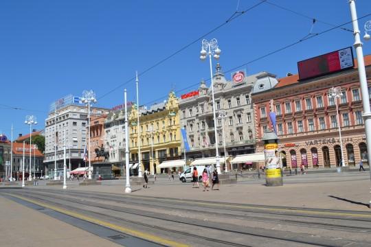 Zagreb_Trg Josipa Jelacica 2