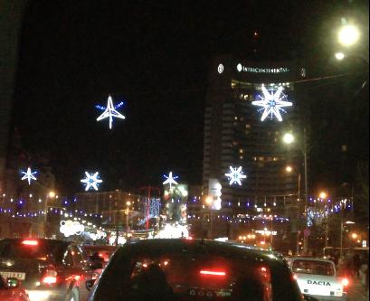 Luminite Craciun Bucuresti 2013