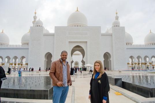 Andreea si Cabral Grand Mosque-6