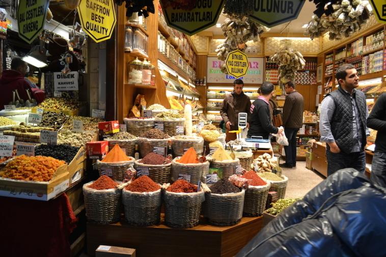 Istanbul_Bazar mirodenii 12