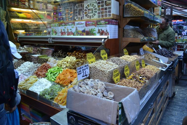 Istanbul_Bazar mirodenii 13