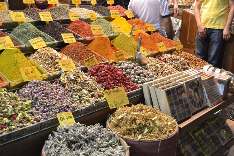 Istanbul_Bazar mirodenii 20