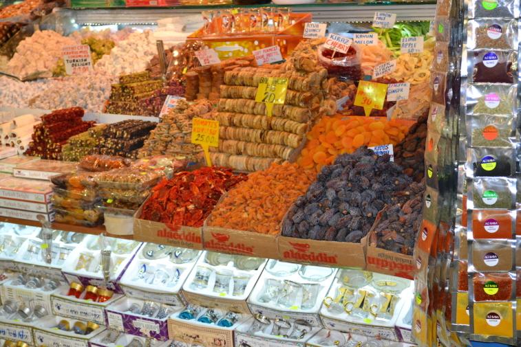 Istanbul_Bazar mirodenii 22