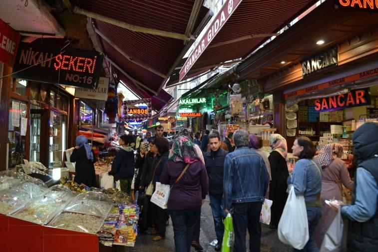 Istanbul_Bazar mirodenii 5
