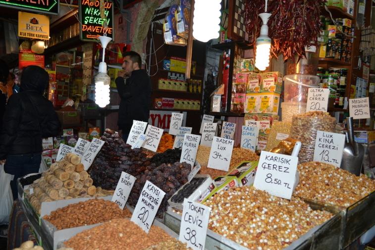 Istanbul_Bazar mirodenii 8