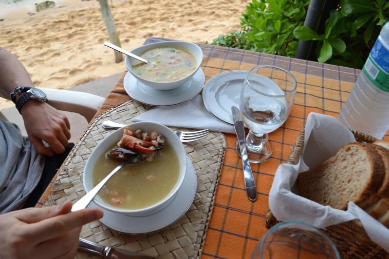 Sri Lanka 14 JLH seafood soup 1