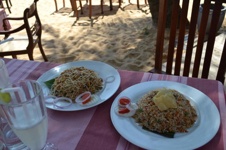 Sri Lanka 14 Neelas fried noodles and rice