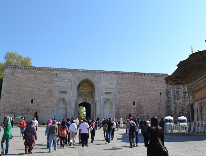 Istanbul_Topkapi_Imperial GateJPG