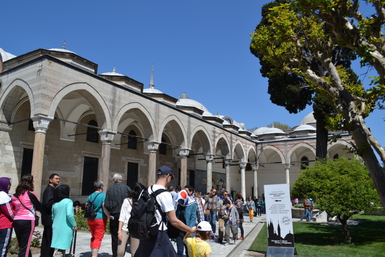 Istanbul_Topkapi_Third Court 1