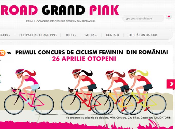 road grand pink