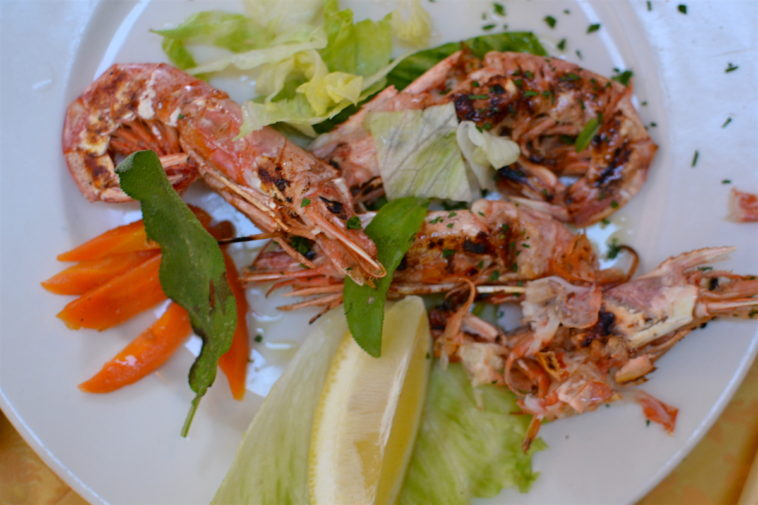 Italia_food_Sorrento shrimps