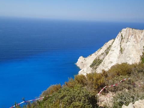 Zakynthos Shipwreck View 2