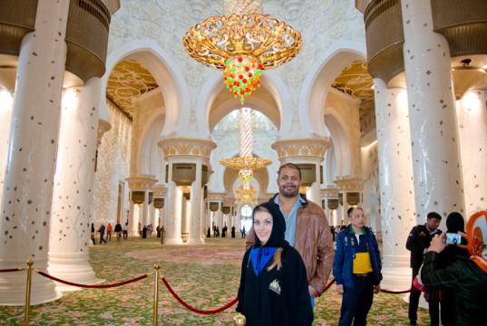Andreea si Cabral Grand Mosque-8