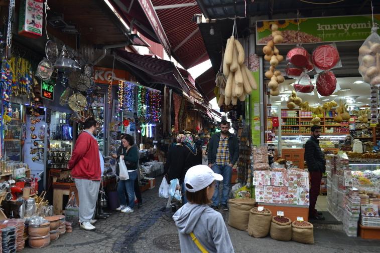 Istanbul_Bazar mirodenii 1
