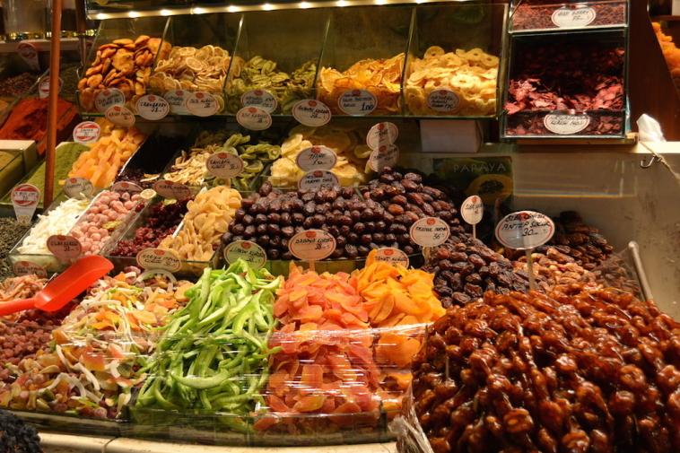 Istanbul_Bazar mirodenii 16