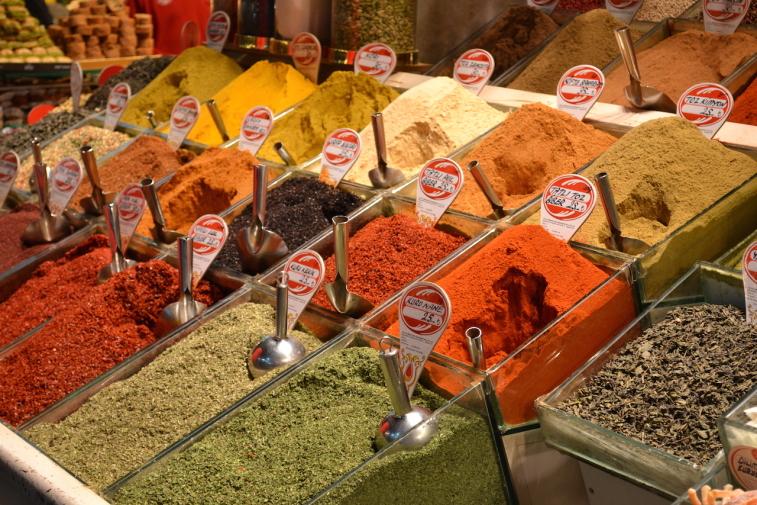 Istanbul_Bazar mirodenii 17
