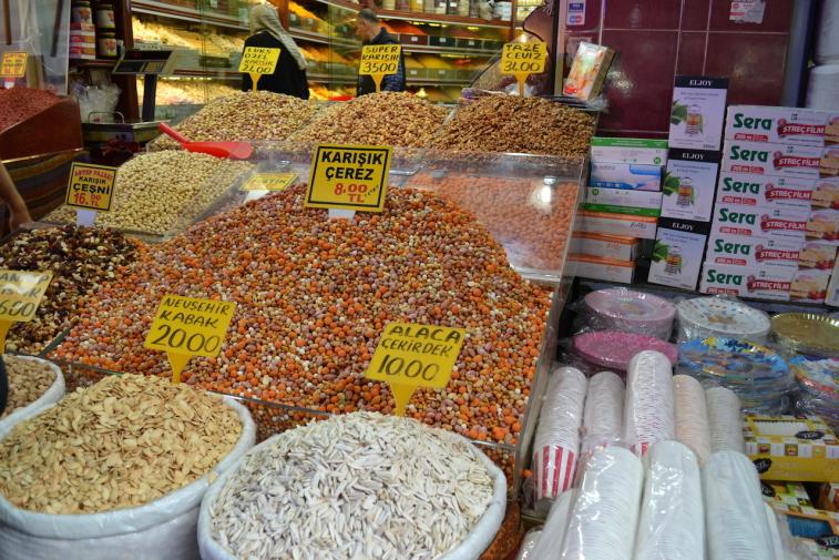 Istanbul_Bazar mirodenii 3