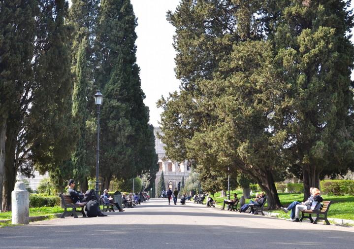 Roma_Parco Del Colle Oppio 3